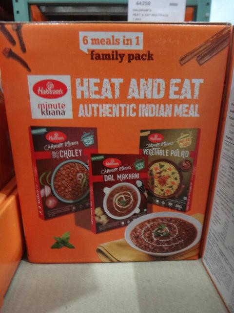 Haldiram's Heat & Eat Multipack 1.6KG | Fairdinks