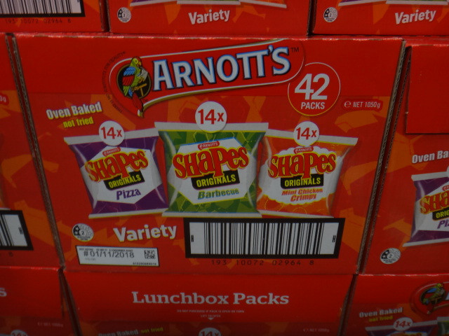 d1985fe8f8597 Arnott's Shapes Variety Pack 42 x 25G | Fairdinks