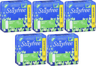 Stayfree Regular Pads With Wings 5 x 20 Count | Fairdinks