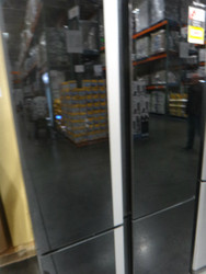 Sharp SJFJ676VBK 676L French Door Fridge Black Glass Door | Fairdinks