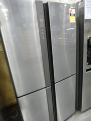 Sharp SJXE624FSL 624L French Door Fridge Gloss Steel  | Fairdinks