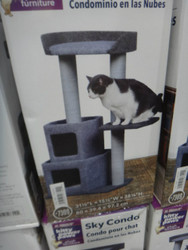 Kitty Power Paws Sky Condo Cat Tree | Fairdinks