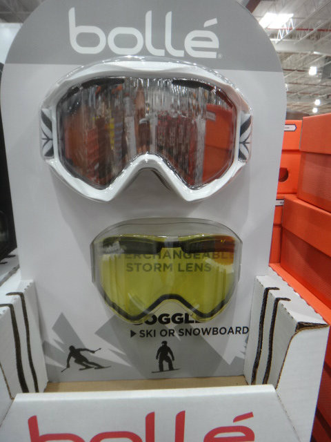 Bolle Adults Ski Goggles With Spare Lens   Fairdinks