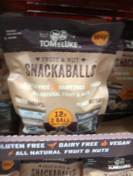 Tom & Luke Fruit & Nut Snackaballs 12 x 42G | Fairdinks