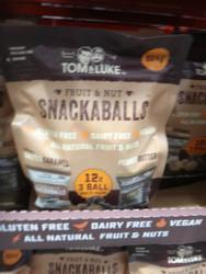 Tom & Luke Fruit & Nut Snackaballs 12 x 42G | Fairdinks