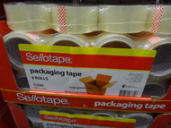 Sellotape Packaging Tape 8 Rolls | Fairdinks