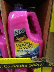 Meguiar's Carnauba Wash and Wax 3.7 Litre | Fairdinks