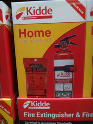 Kidde Home Safety Kit Extinguisher and Blanket | Fairdinks