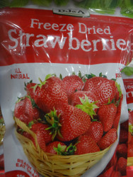 DJ&A Freeze Dried Strawberries 100G | Fairdinks