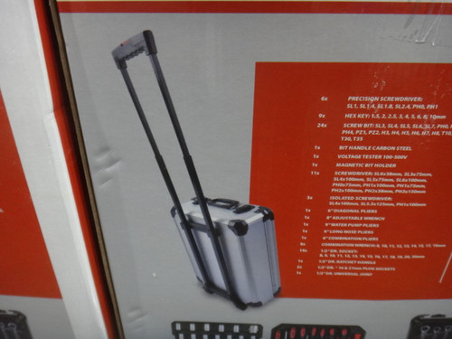 Kreator 253 PCS Tool Set Trolley | Fairdinks