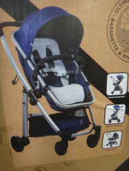 Safety 1st Verso Nest 4 Wheel Bassinette Stroller | Fairdinks