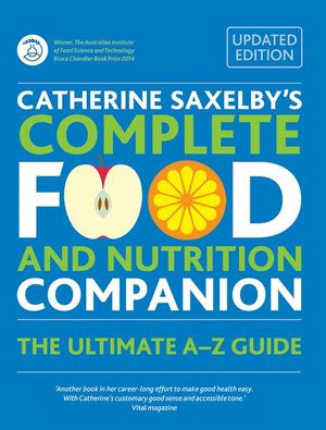 Catherine Saxelby's Complete Food and Nutrition Companion | Fairdinks