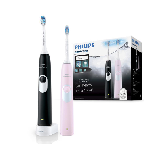 Philips Sonicare 2 Series Electric Toothbrush 2 Pack | Fairdinks