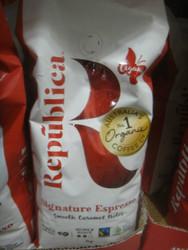 Republic Organic Espresso Beans 1KG   Fairdinks