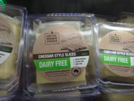 Dairy-Free Down Under Cheddar Style Slices 625G Vegan Australia | Fairdinks
