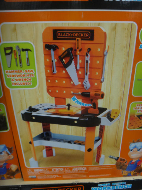 Black & Decker Junior Builder Workbench | Fairdinks
