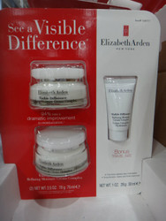 Elizabeth Arden Visible Difference Moisture Cream 3PK 180ML | Fairdinks