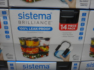 Sistema Brilliance Food Storage 14 Piece Set | Fairdinks
