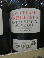 Carapelli Organic Unfiltered EVOO 1L | Fairdinks