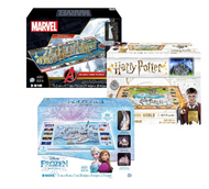 4D Cityscape Puzzle Marvel or Harry Potter or Frozen | Fairdinks