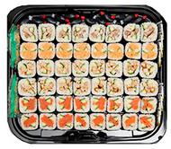 Sushi Platter - 48 PCS  Smoked Salmon, Tuna, Veg Tempura, Chicken Katsu (48 hours notice required)