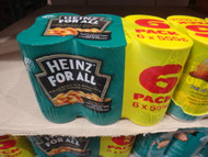 Heinz Baked Beans 6 x 555G | Fairdinks