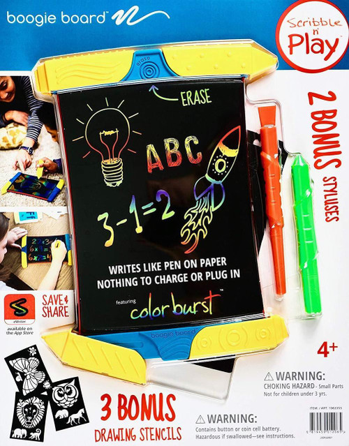 Boogie Board Scribble N' Play EWriter With 2 Bonus Styluses | Fairdinks