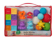 Infantino Balls, Blocks & Buddies Activity Toy Set  | Fairdinks