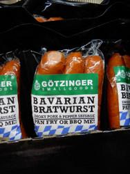Gotzinger SmallGoods Bavarian Bratwurst 900G | Fairdinks