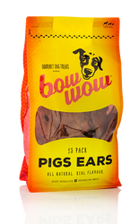Bow Wow Pigs Ears 15CT | Fairdinks