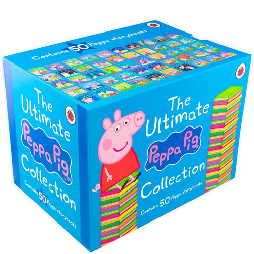 The Ultimate Peppa Pig Collection 50 Book   Fairdinks