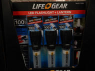 Life Gear LED Flash Light Lantern 3 Pack | Fairdinks