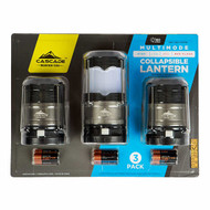 Cascade Mountain LED Lantern Collapsible 3 Pack | Fairdinks