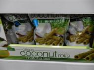 Tropical Fields Matcha Tea Coconut Rolls 285G | Fairdinks