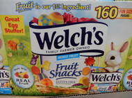 Welch's Easter Fruit Snacks Fun Size Pouches 160 x 14G | Fairdinks