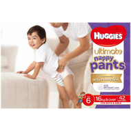 Huggies Ultimate Nappy Pants Size 6 - 72 Pack | Fairdinks