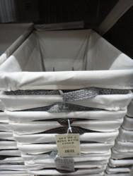 Baum Lined Storage Bins 2 Piece | Fairdinks