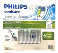 Philips Sonicare DiamondClean Replacement Brush Heads 6 Pack | Fairdinks
