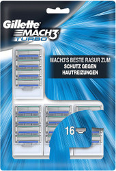 Gillette Mach3 Turbo Cartridges 16 Pack | Fairdinks