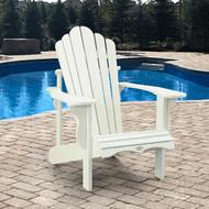 Leisure Line Adirondack Chair White   Fairdinks