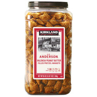 Kirkland Signature Peanut Butter Pretzels 1.56KG | Fairdinks