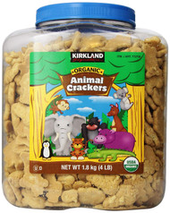 Kirkland Signature Organic Animal Crackers 1.8KG | Fairdinks