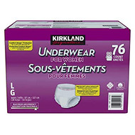 Kirkland Signature Incontinence Women Pants L/XL 76 PCS | Fairdinks