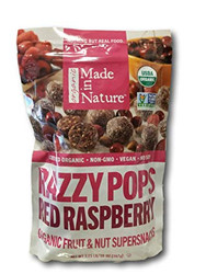 Made in Nature Organic Razzypops 567G   Fairdinks