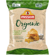 Mission Organic Tortilla Rounds 875G | Fairdinks