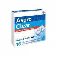 Aspro Clear extra Strength 500MG 16 Count | Fairdinks