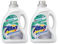 Biozet Attack Plus Eliminator Laundry Liquid 2 x 2 L /80 Washes   Fairdinks