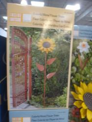 Inside Outside Garden Metal Flower Stake | Fairdinks