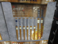 Aoba Bamboo Chopsticks 8 Pack | Fairdinks