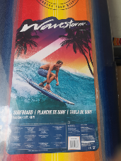 Wavestorm Surfboard 2.4M/ 8 FT multi colored only